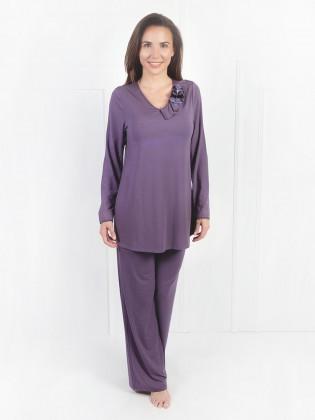 Flower Pajama avec brassière intégrée Amoena