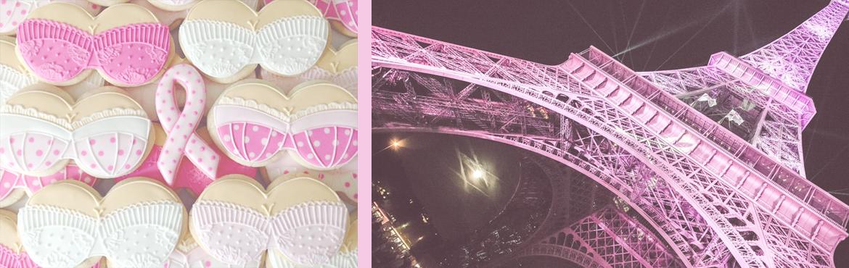 Octobre rose à Paris, Tour Eiffel illuminée